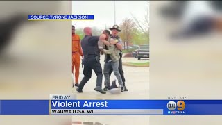 Video Shows Wisconsin Police Officers Punch 17-Year-Old, Pin Him To Ground