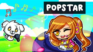 She's a POPSTAR in Game of Life 2!