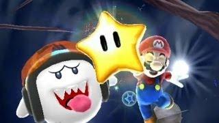 Super Mario Galaxy 100% Walkthrough - Part 10 Ghostly Galaxy