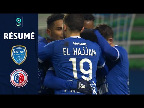 Troyes Chateauroux Goals And Highlights