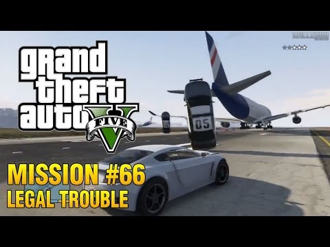 Grand Theft Auto V - Mission #66 - Legal Trouble