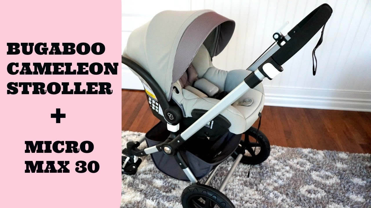 bugaboo cameleon 3 stroller maxi cosi car seat first impressions honeywell lifestyle youtube. Black Bedroom Furniture Sets. Home Design Ideas