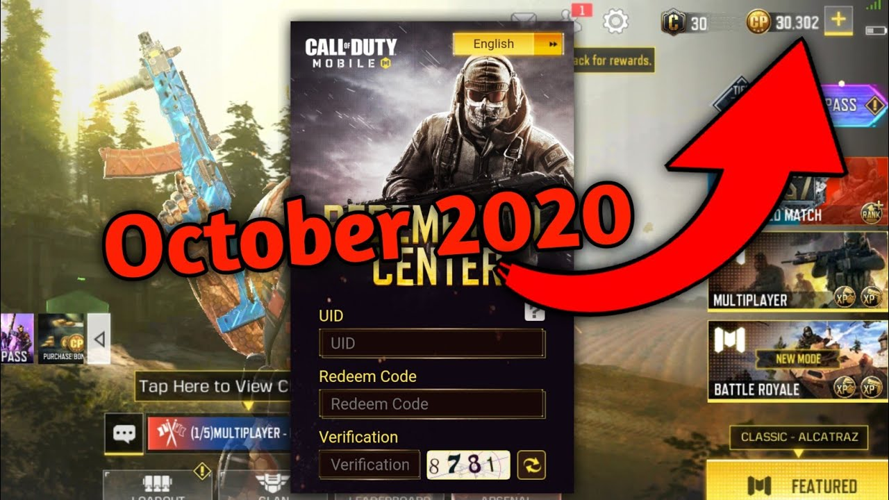 New Code Redeem Codm for global version.... - YouTube