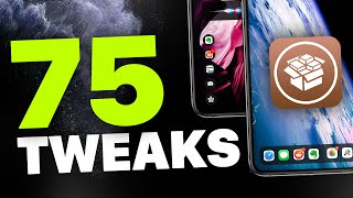 Top 75+ Jailbreak Tweaks for iOS 12.4 pre iOS 13! (A12 Cydia)