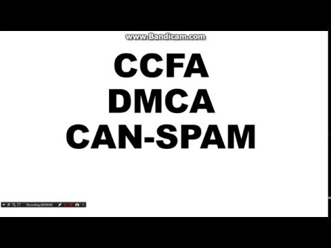 Digital forensic  CFAA DMCA CAN-Spam act in HINDI