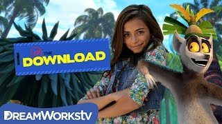 Top 5 Dance Moves of King Julien Tutorial with Ashlund Jade | THE DREAMWORKS DOWNLOAD