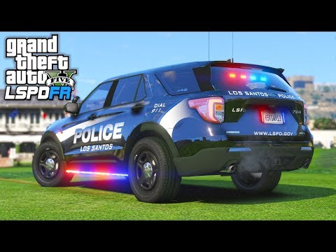 Robbery gone wrong... Featuring NEW 2020 Ford Explorer!! (GTA 5 Mods Gameplay)