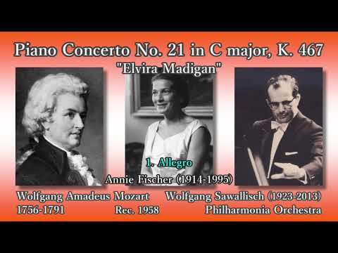 Mozart: Piano Concerto No. 21, A. Fischer & Sawallisch (1958) モーツァルト ピアノ協奏曲第21番 A. フィッシャー