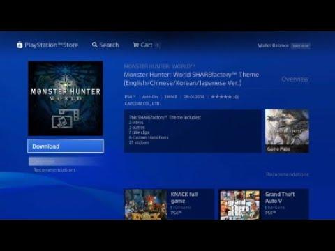 Monster Hunter World - ShareFactory Theme*