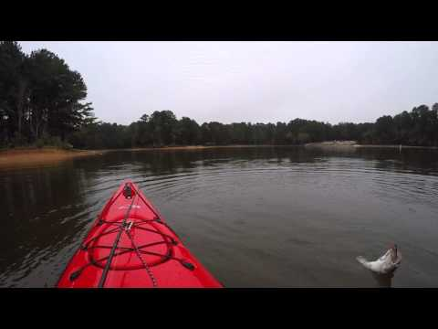 Kayak fishing on west point lake in my delta youtube for West point lake fishing report