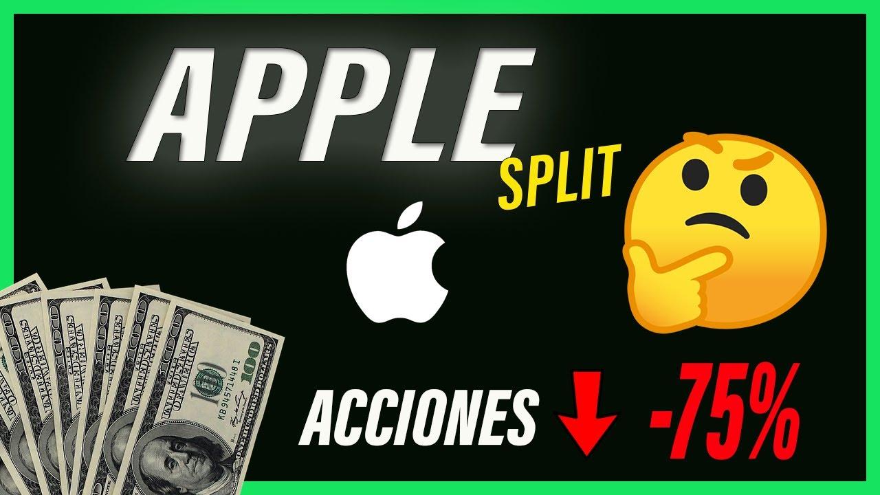 Las ACCIONES de APPLE COSTARÁN 75% MENOS | ¿Por qué? Stock split