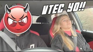 Sisters Reaction to VTec!!