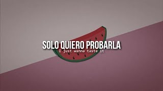 Watermelon sugar • Harry Styles | Letra en español / inglés