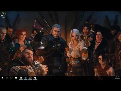 4k The Witcher Live Wallpaper Youtube