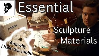 Basic Sculpting Supplies & Essential Sculpture Materials