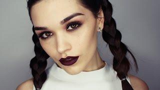 �������� ���� Modern Grunge makeup tutorial ������