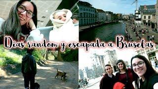 Días random y escapada a Bruselas · WEEKLY VLOG | Christine Hug