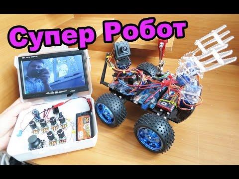Как сделать робота на пульте управления в домашних условиях