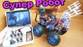 Как Сделать Робота На Радиоуправлении(В этом видео я покажу как сделать робота на радиоуправлении. Для этого нам нужно: 1. Набор для руки http://goo.gl/099Z2..., 2016-05-09T13:22:44.000Z)