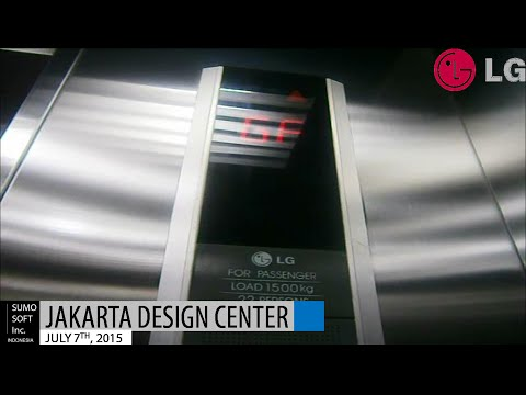 LG Lift at Jakarta Design Center