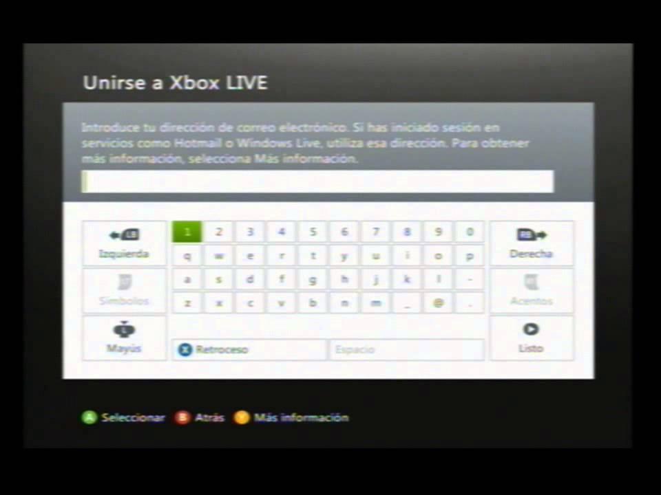 Como Hacer Un Perfil Para Jugar En Xbox Live YouTube