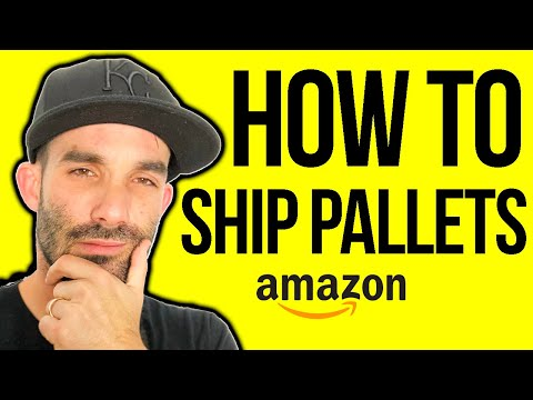 How to SAVE 60% on shipping to amazon | ship pallets to FBA | LTL SHIPPING #amazonfba