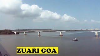 WDP4 Madgaon Mumbai Mandovi Zuari River Bridge