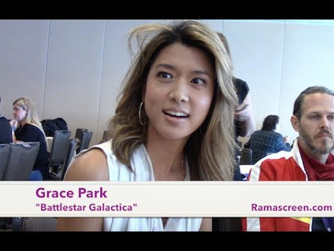 Battlestar Galactica Reunion Sdcc  Roundtable With Grace Park
