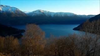 Utsikt fra Raane i Luster