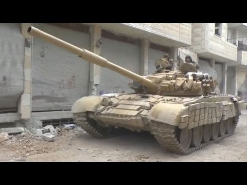 ᴴᴰ 8 Tank missions with GoPro™ from Darayya Syria ♦ subtitles