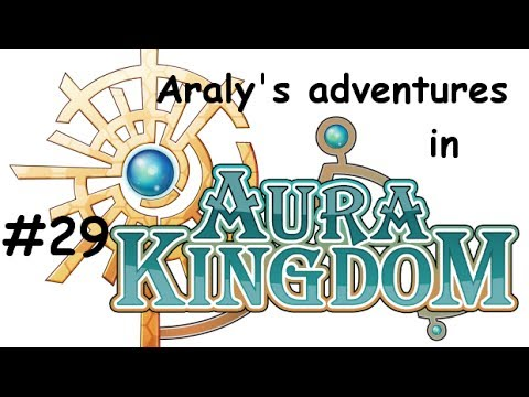Aura Kingdom Gameplay #29 - Level 40-41 Wizard-Sorcerer - Secondary class