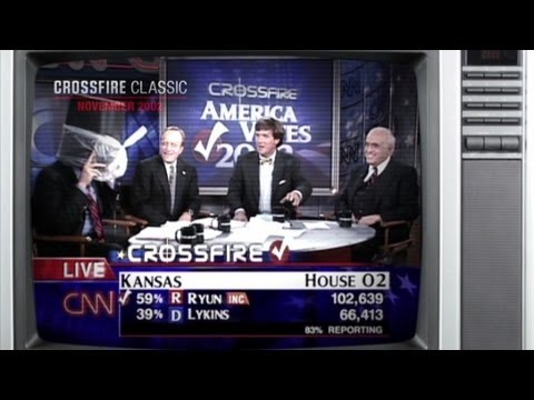 Crossfire Classic: Carville hides in a trash can