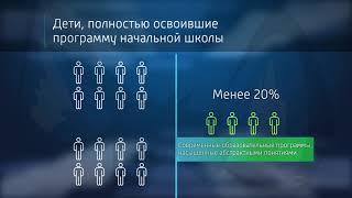 Наглядное сравнение результатов обучения по современным и советским программам.