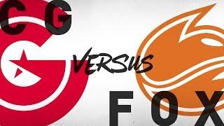 CG vs. FOX - Week 9 Day 2 | NA LCS Summer Split | Clutch Gaming vs. Echo Fox (2018)