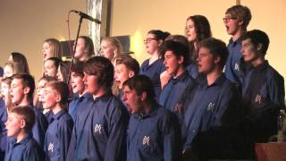 "Barnsley Youth Choir sing ""This Little Babe"" - Britten"