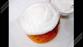 Глянцевая  глазурь  для украшения Пасхальных куличей  Glossy glaze for Easter cakes decoration