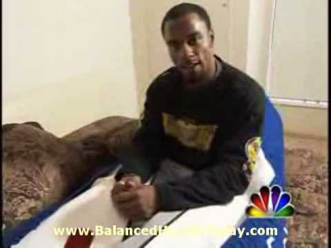 Pro football star Darren Sharper talks about Hyperbaric Therapy