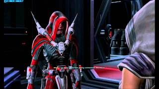 SWTor Sith Warrior Companion Jaesa -  Light Side Darth