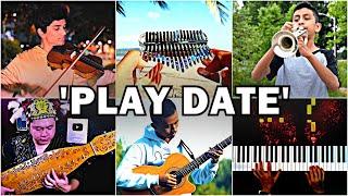 Who Played It Better: Play Date - Melanie Martinez (Violin, Kalimba, Piano, Trumpet, Guitar, Sape) Resimi