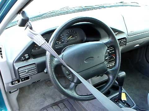 93 ford escort steering