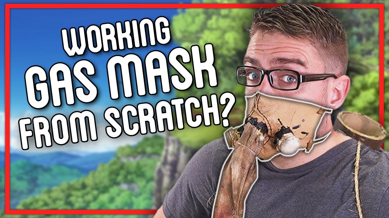Making Dr. Stone Gas Mask From SCRATCH w/ @Louis Weisz