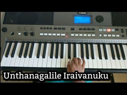 Unathangalile iraivanuku - Mass Song Keyboard Notes