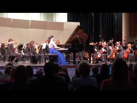 Sarah Sun plays Rachmaninoff Concerto No. 2
