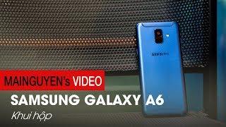 Mở hộp Samsung Galaxy A6: Phải chăng là chiếc máy thay thế cho J7 Pro? - www.mainguyen.vn