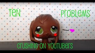 LPS: Twenty Problems With Crushing on a YouTuber! (For Denis - Roblox & More)