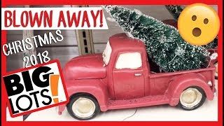 AMAZING CHRISTMAS DECOR AT BIG LOTS 2018 🎄🎅🏼   COME SHOPPING WITH ME!