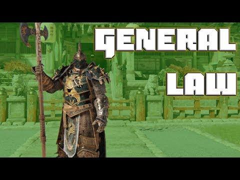 General Law   Lawbringer Duels [For Honor]