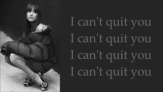 Cashmere Cat ~ Quit ft. Ariana Grande ~ Lyrics (Official Audio)