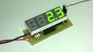 видео Термометр-термостат на Attiny45