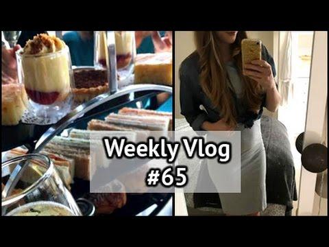 Afternoon Tea & Holiday Hauls | xameliax Weekly Vlog #65